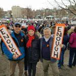 【為活命而走】「受夠了」波士頓遊行由學生主導發言