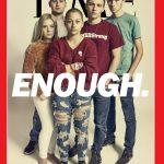 佛州血案倖存5學生 登時代雜誌封面  怒吼「夠了」