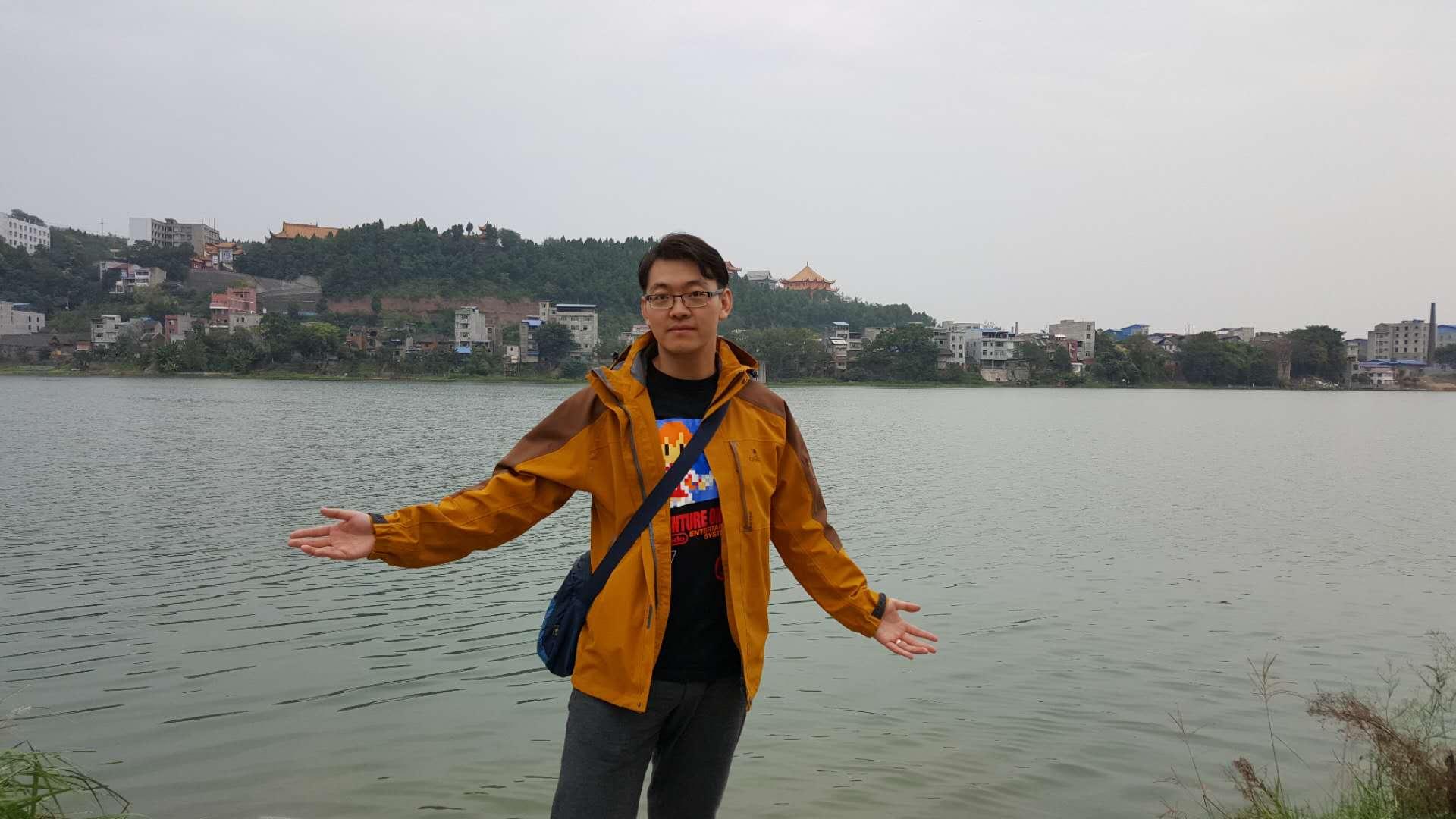 參與H-1B工作簽證抽籤的中國留學生李翔,分享自己留美多年心路歷程。(圖:李翔提供)