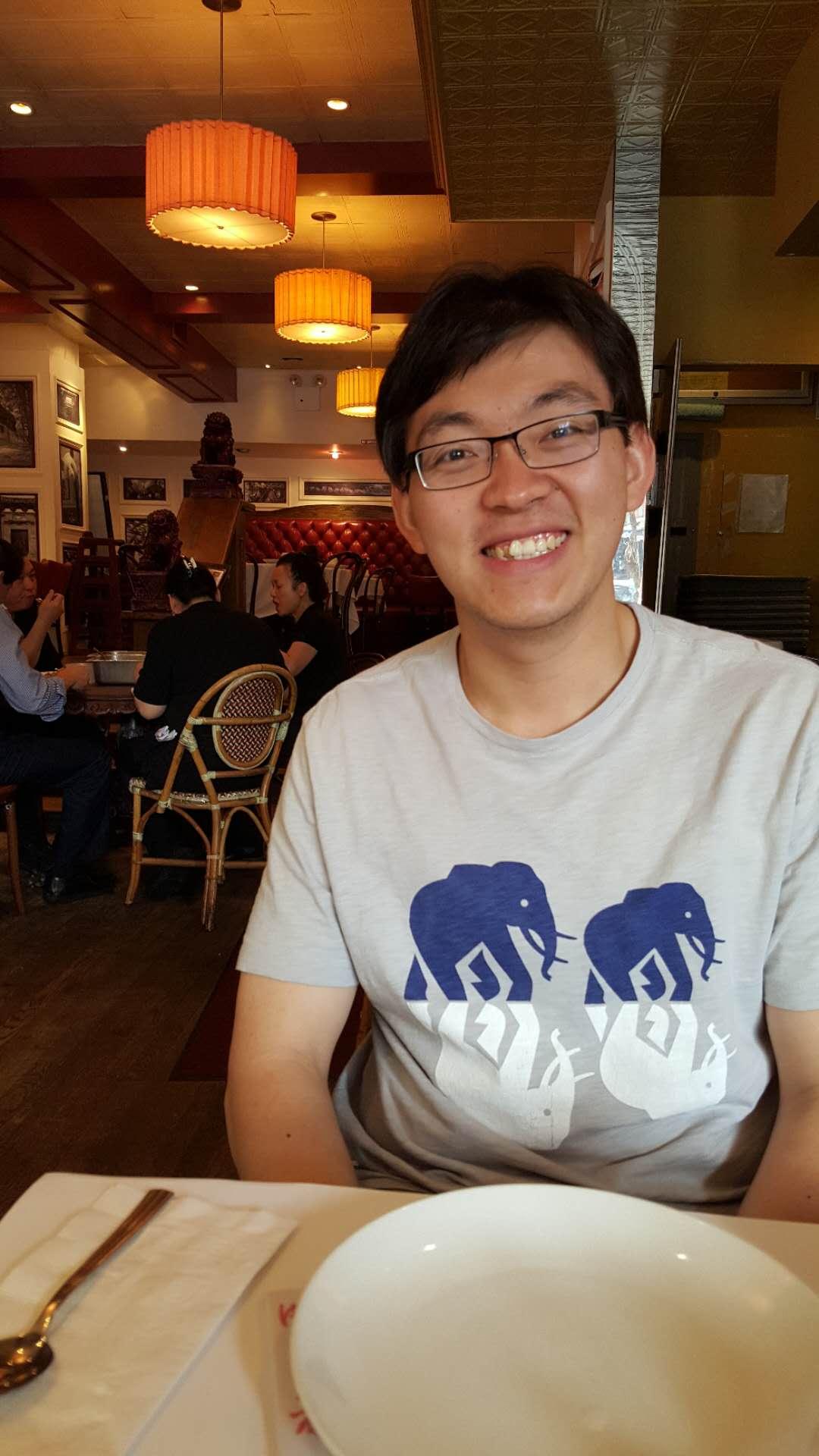 中國留學生李翔為了H-1B,苦熬多時終於等到H-1B。(圖:李翔提供)
