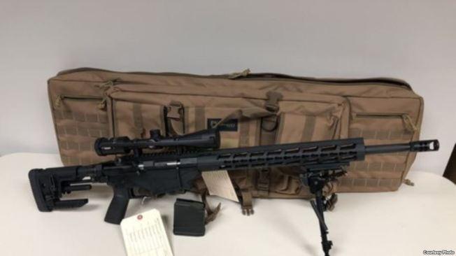 孫文亮所購步槍。(警方提供)