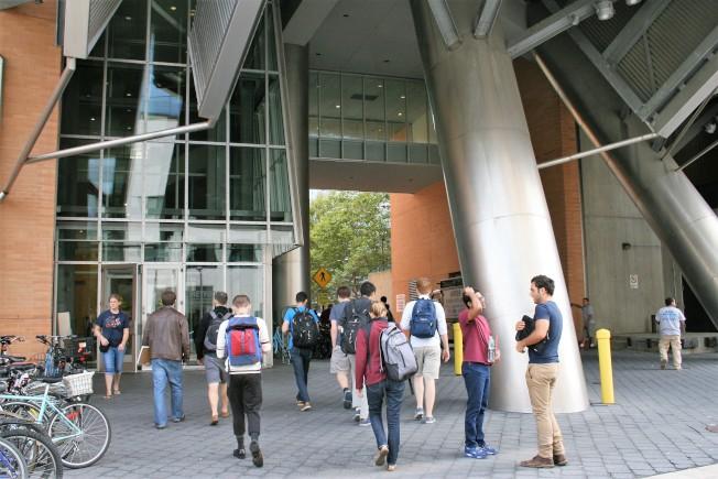 全球最頂尖的麻省理工學院有三分之一強的學生來自國外。(記者唐嘉麗/攝影)