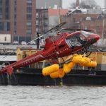 直升機墜毀紐約東河 5死者身分已確認