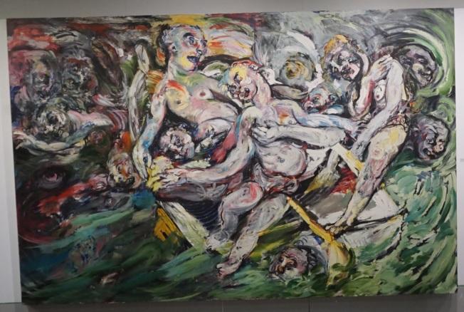 Richard Hofmann作品「Ship of Fools」。(記者王若馨/攝影)