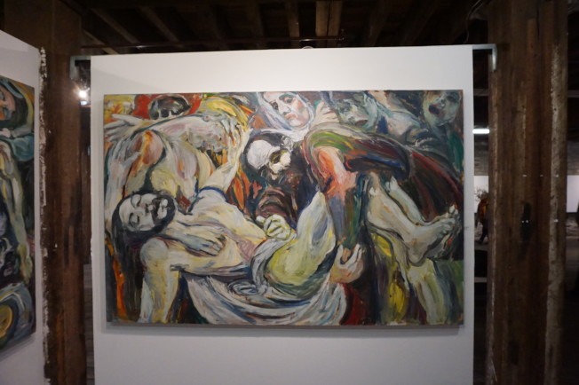 Richard Hofmann作品「Untitled」。(記者王若馨/攝影)
