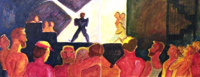 Marc Lida作品「The Saint」。(BWAC/提供)