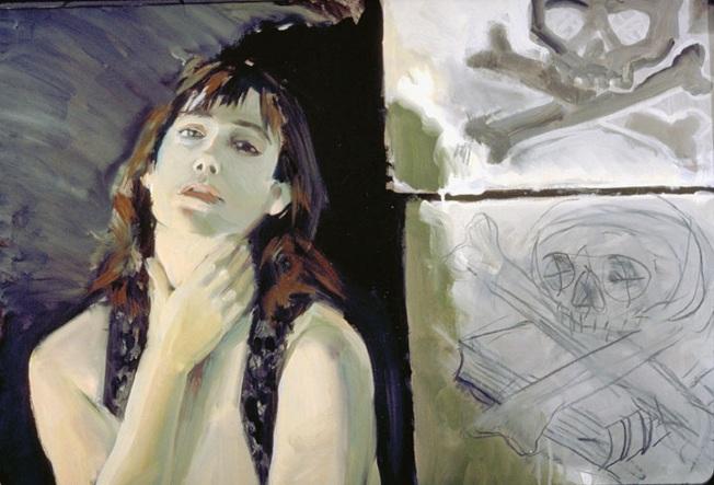 Audrey Anastasi作品「Bella Donna」。(記者王若馨/攝影)