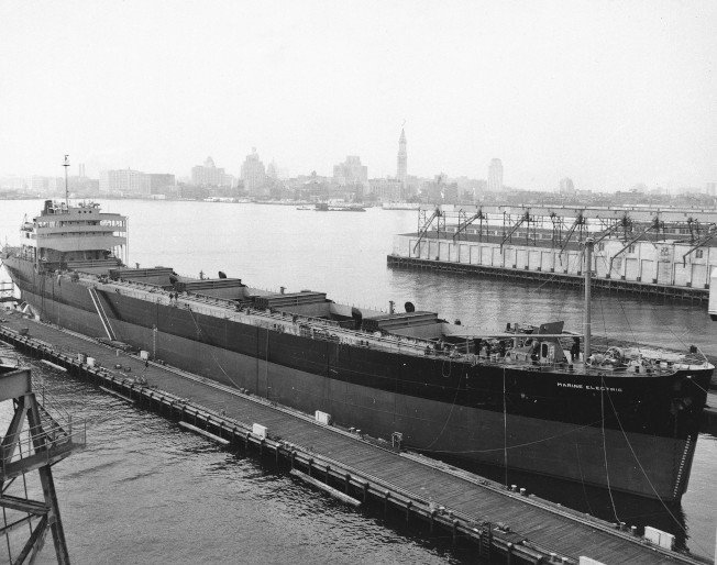 伯利恆鋼廠曾是美國造船業的鋼料來源。(美聯社)