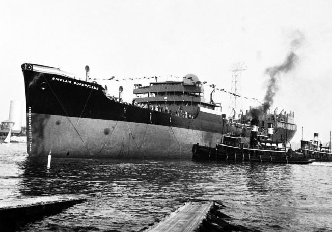 1941年時,伯利恆的鋼材曾經在一天內造出14艘船。(美聯社)