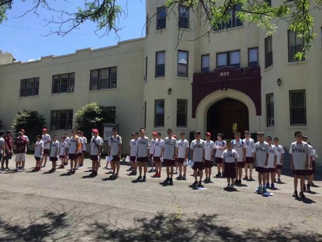 紐約軍校夏令營,培養孩子們的領導力。(紐約軍校/提供)
