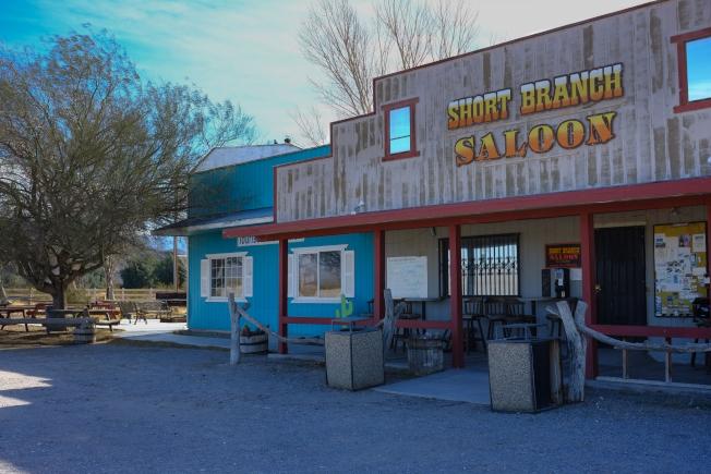 「Short Branch Saloon」簡餐店只有假期才營業。