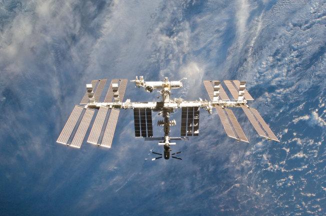 國際太空站。(路透)