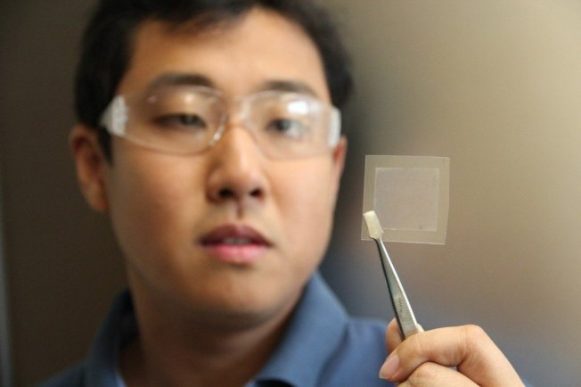 石墨烯被誉为「新材料之王」、「超级心脏」。(取材自澳洲联邦科学与工业研究组织)