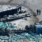 〈圖輯〉看加拿大慘烈車禍 冰球隊員15死  現場宛如空襲
