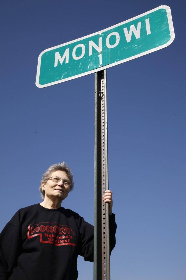 做為全鎮唯一的居民,艾勒競選鎮長時總是所向匹敵,年年獲得壓倒性的勝利。(路透)