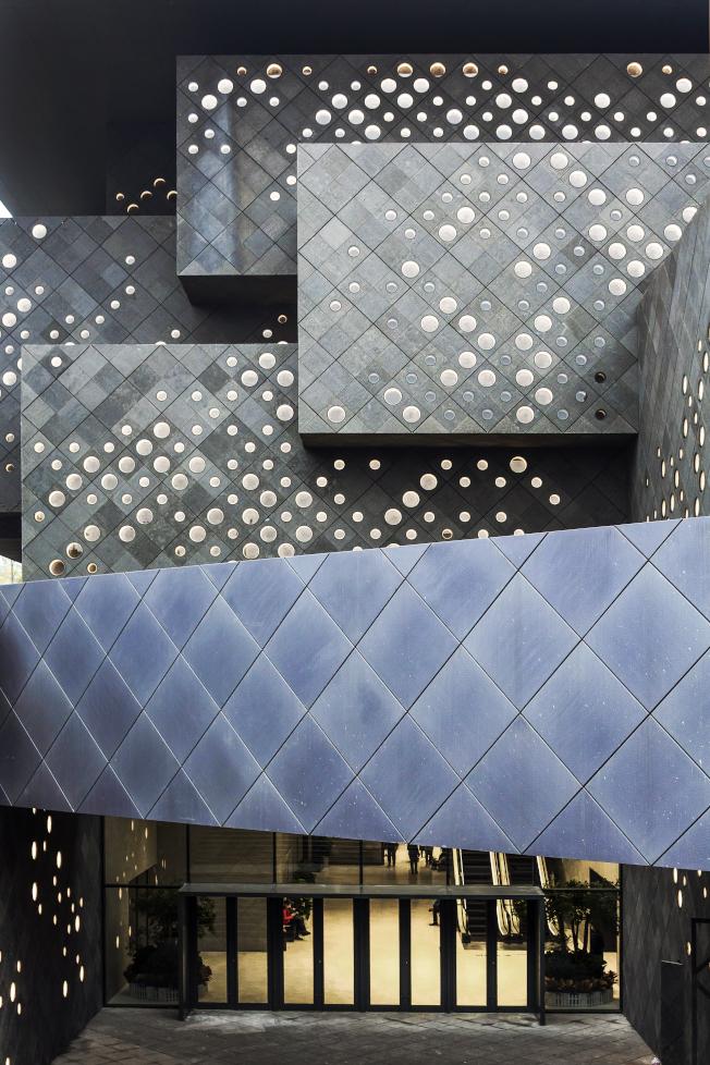 嘉德藝術中心已成北京文化新地標。(嘉德提供)