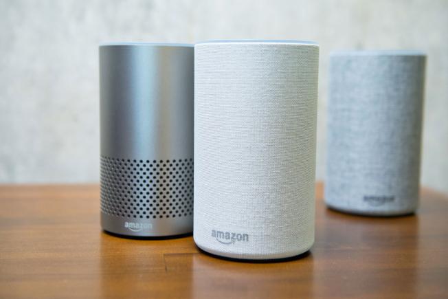 亞馬遜的智慧語音助理喇叭Echo,可助長者的生活更獨立、方便。(Getty Images)