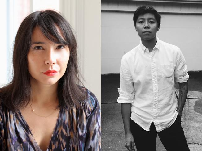 來自台灣的華裔第二代電影製作人鄭班班(圖右)與導演Sasie Sealy(圖左)作品拿下「未說的故事」電影大賽優勝,獲100萬元獎金。(取自未說的故事官網)