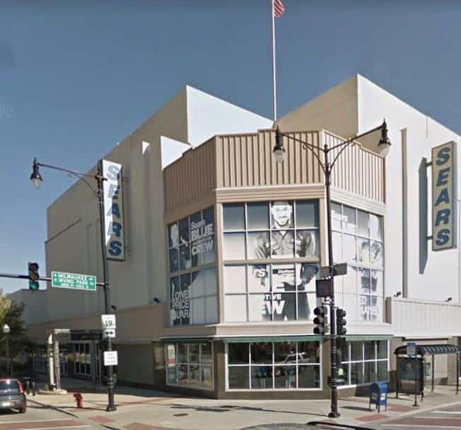 位於六角大樓的芝加哥最後一家席爾斯百貨零售點,將在7月中旬關門。(google map截圖)