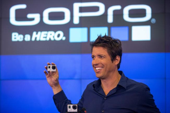 小米傳有意收購極限運動攝影機製造商GoPro。(Getty Images)