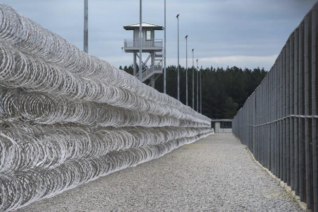 發生囚犯鬥毆事件的監獄李氏矯正機構。美聯社