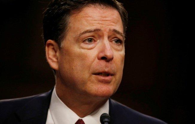 美國FBI前局長柯米。路透