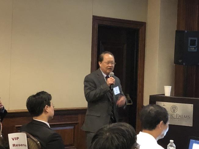 富樂頓州大教授陳君儀。(記者王若然 / 攝影)