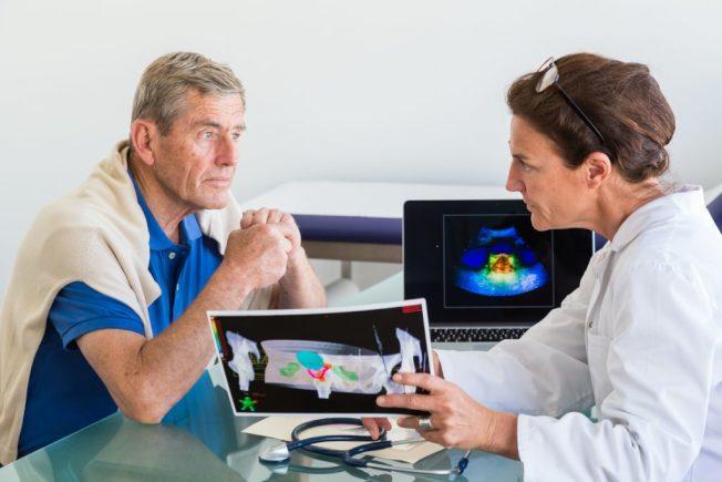 一份報告指出,攝護腺癌之所以致命,是因為太遲發現。(Getty Images)