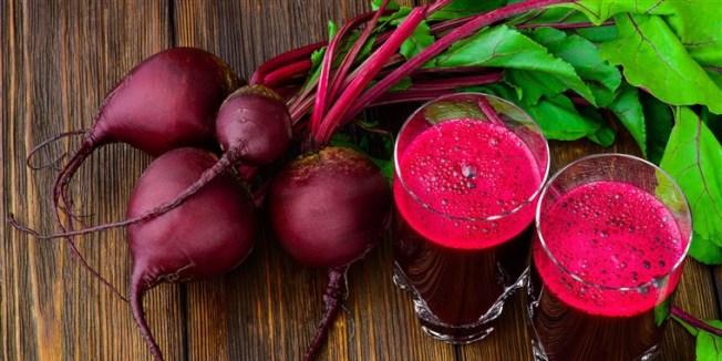甜菜已成為沙拉、果汁、湯品界的明星食材,有益於心臟、大腦與肌肉,富含纖維可防便秘和痔瘡。(Getty Images)