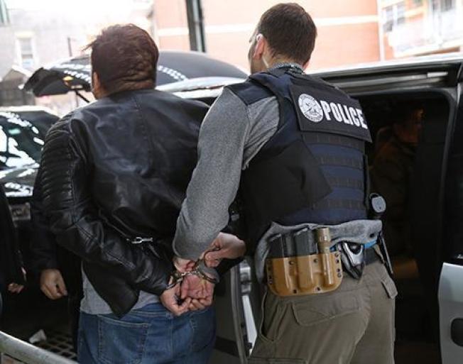 ICE紐約六日大行動,再捕225名無證移民。(ICE提供)