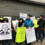 被迫遷出近百日 包厘街85號住客要再抗議