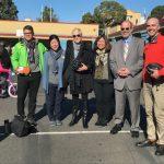 舊金山騎單車上學周 宣傳交通安全知識