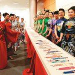 旗袍文化月 展現針尖上的中國