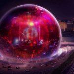 賭城將現全球首座球形劇場 科技感十足