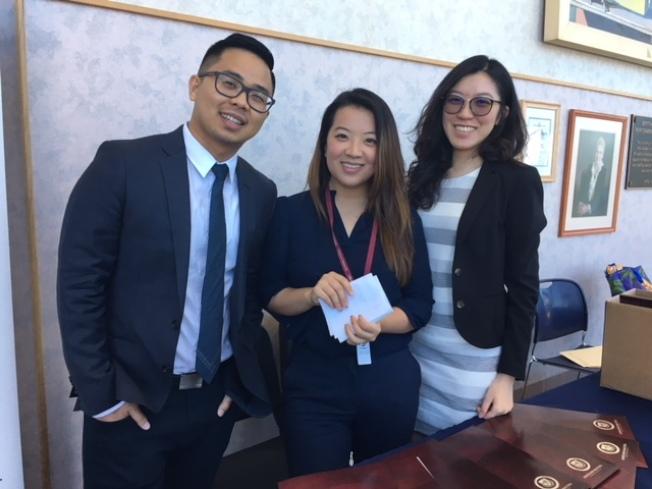 Jay Park(左)和他的Admission Masters團隊。(記者楊青/攝影)