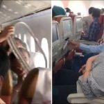 客機1.5萬呎高空突「脫窗」 女乘客嚇哭釀3傷