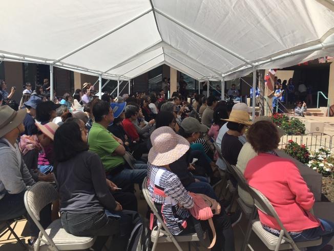 「台灣美食國際巡迴講座」盛況空前,民眾為了增進廚藝,還有人特地從洛杉磯前來取經。(記者陳良玨/攝影)