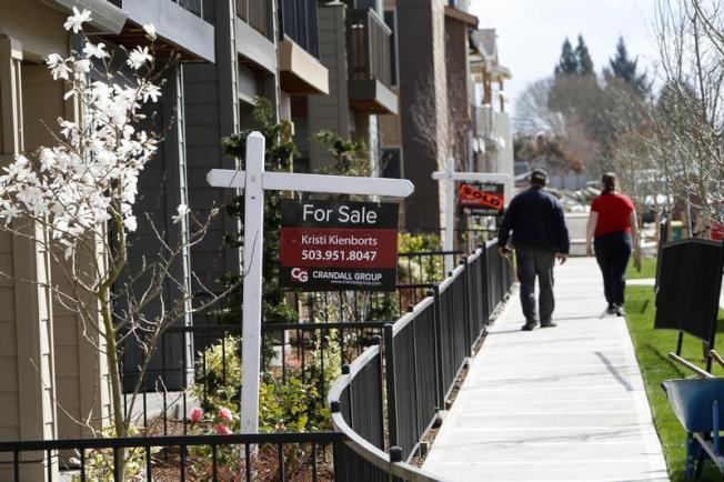 房子快速轉售,俗稱「炒房屋」。(路透)