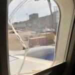 窗戶又裂開 西南航班機迫降