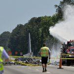 赴「飛機墳場」除役 運輸機喬州墜毀9死