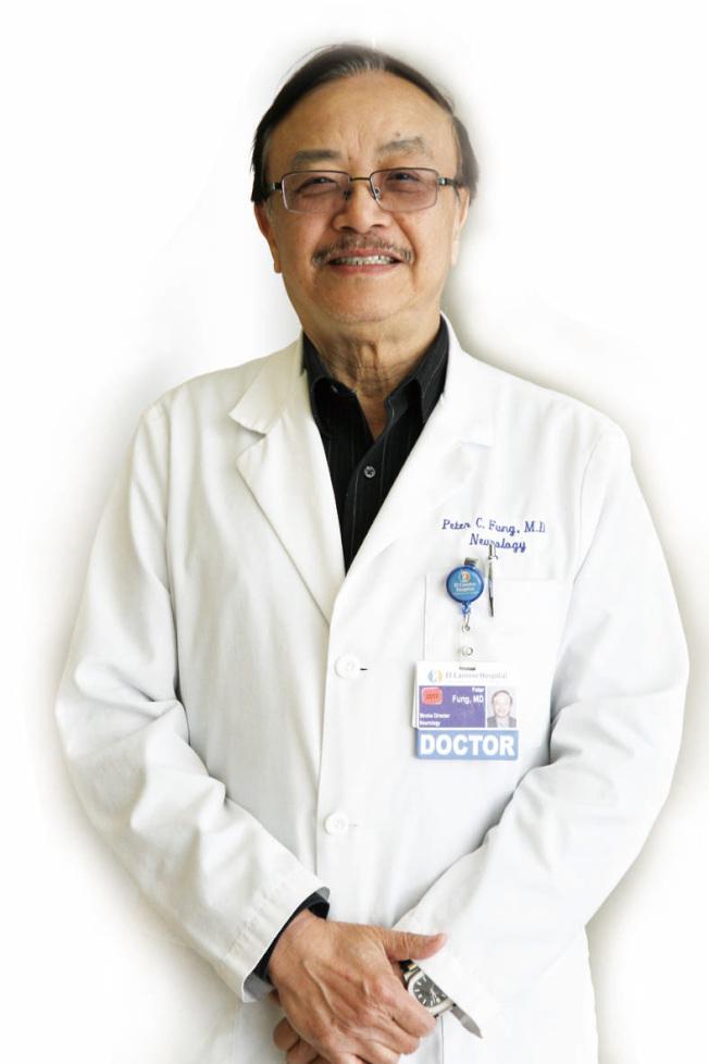 醫師馮振中指出,偶爾忘記一些字詞來表達,都算是正常的老化。(記者李榮/攝影)