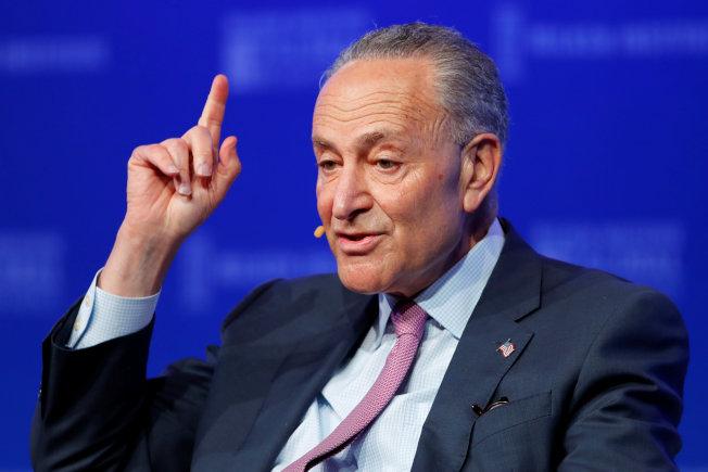 紐約州聯邦參議員舒默支持大麻全面合法。(路透)
