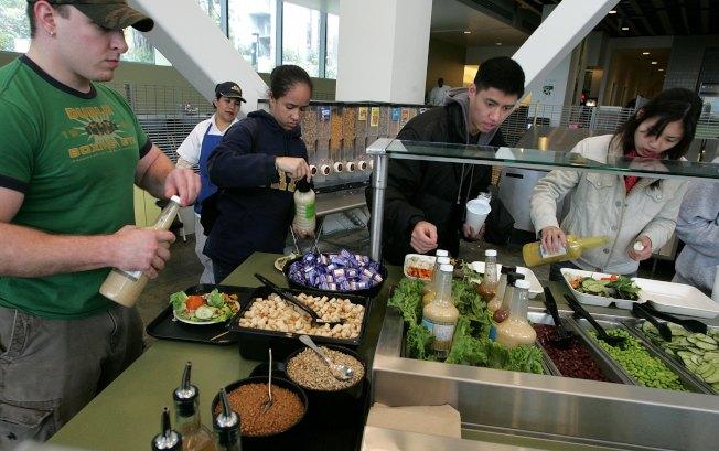 學生盡量不參加學校的用餐計畫(Meal Plan),降低食物的開銷。(Getty Images)