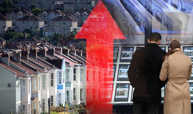 64%的美國人相信,他們居住地區的房價將會於未來一年持續上揚。(Getty Images)