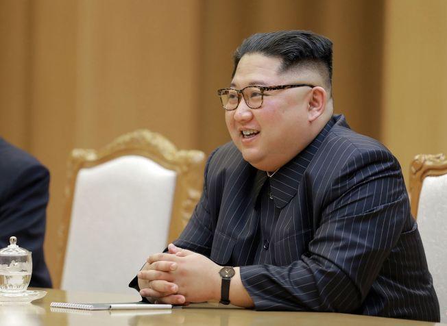 川金會不論結果為何,北韓領導人金正恩能與美國總統平起平坐,已確立他的領導地位,贏得勝利。(Getty Images)