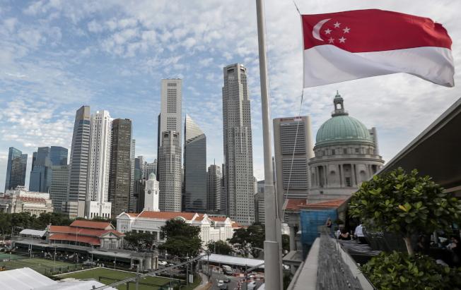 川金會的東道主新加坡。(歐新社)
