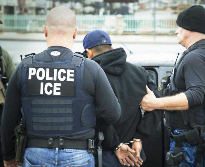 聯邦海關及移民執法局(ICE)執法趨嚴。(Getty Images)