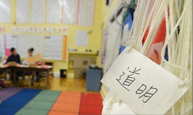 許多華人家長把孩子送去中文班,希望雙語能力有助孩子將來找工作。(Pexels)