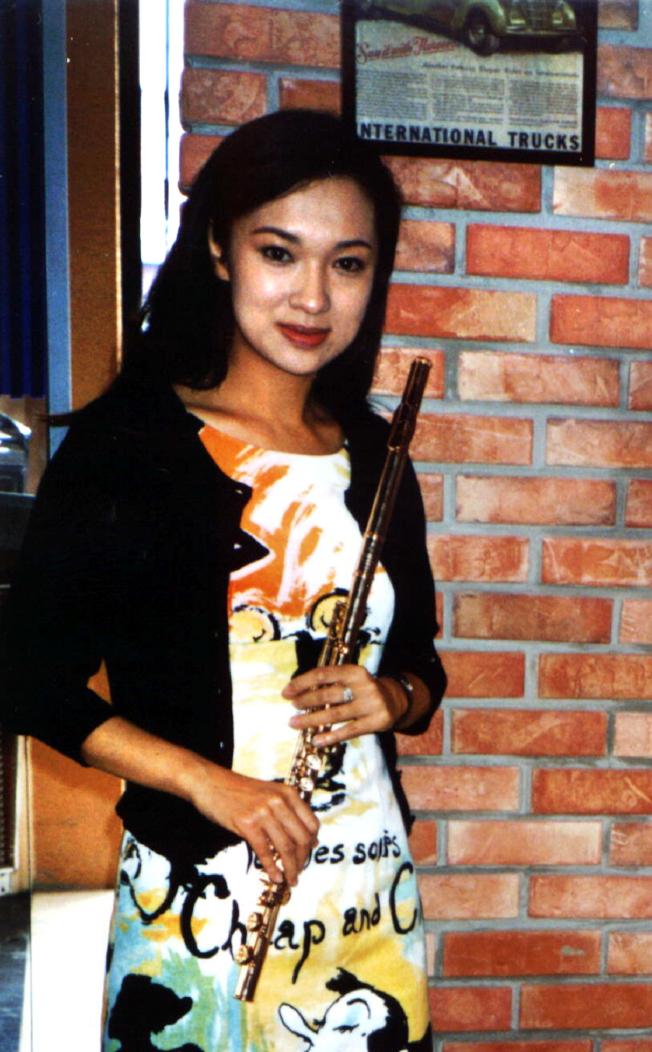 賴英里被稱「長笛公主」。(本報資料照片)