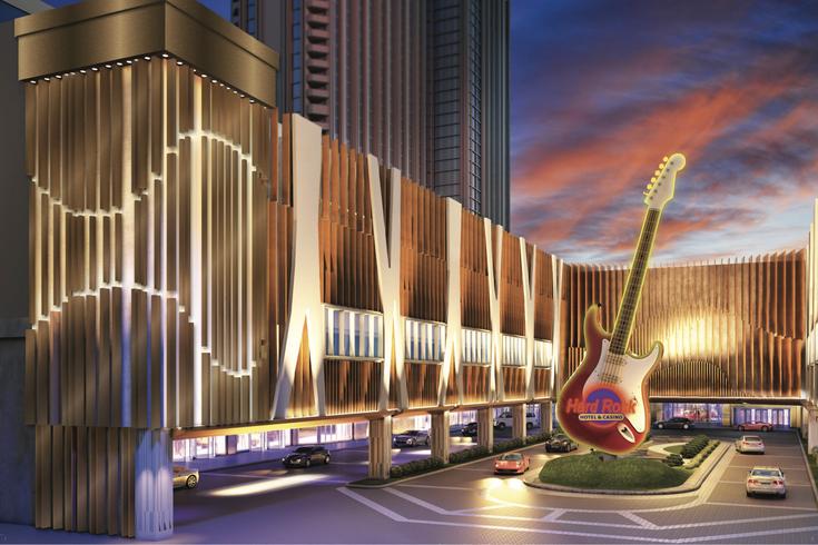 川普海景豪華大賭場更名為硬石賭場,6月28日開業。(網路圖片)